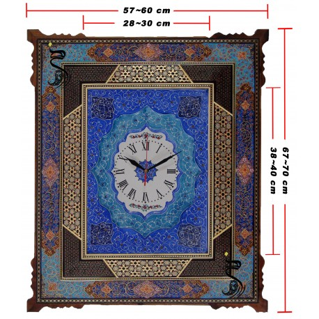 بازار هنر-ساعت خاتم مینا کد 121-bazarhonar.com
