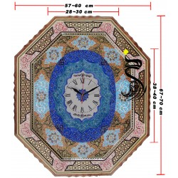 ساعت خاتم - میناکاری کد 122