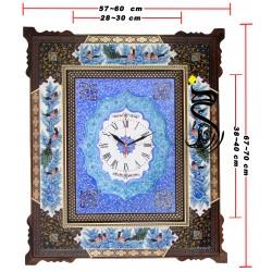 ساعت خاتم - میناکاری کد 123